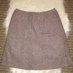 Pastel tweed pencil skirt Freeport Studio
